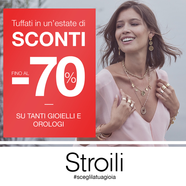 Tuffati in un'estate di sconti con Stroili