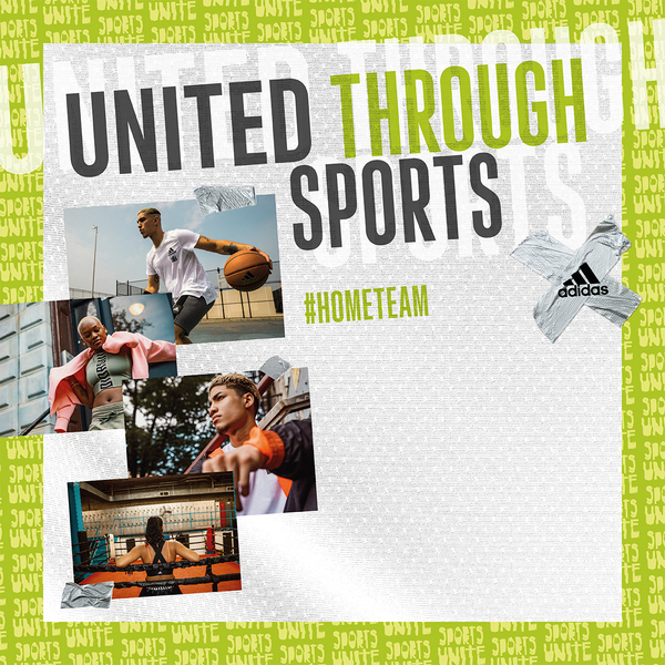 ADIDAS UNITED THROUGH SPORTS