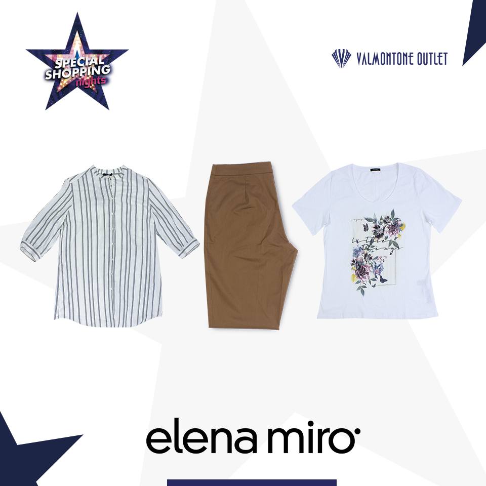 <p>Special Shopping Nights da Elena Mirò</p>