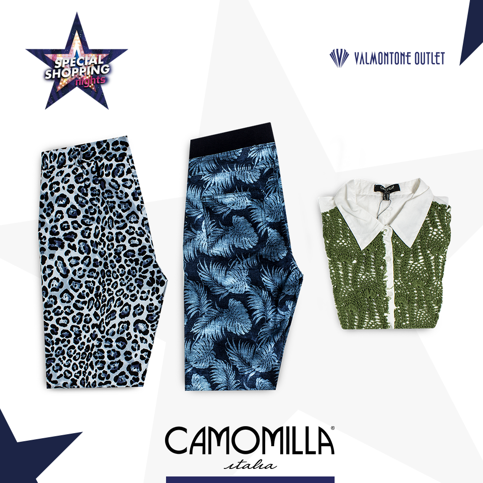 <p>Special Shopping Nights da Camomilla Italia</p>