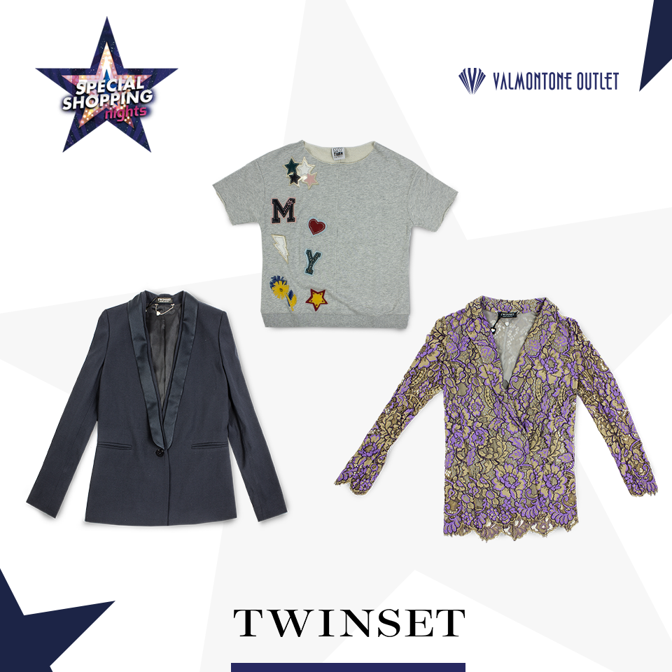 <p>Special Shopping Nights da Twinset</p>