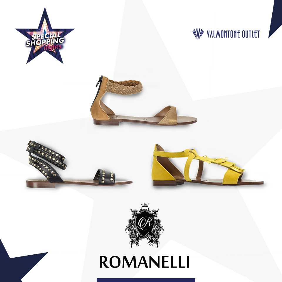 <p>Special Shopping Nights da Romanelli</p>