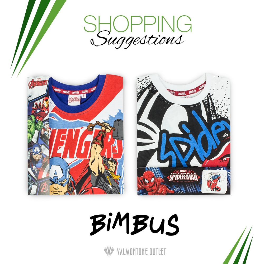 <p>Shopping Suggestions da Bimbus per lui</p>