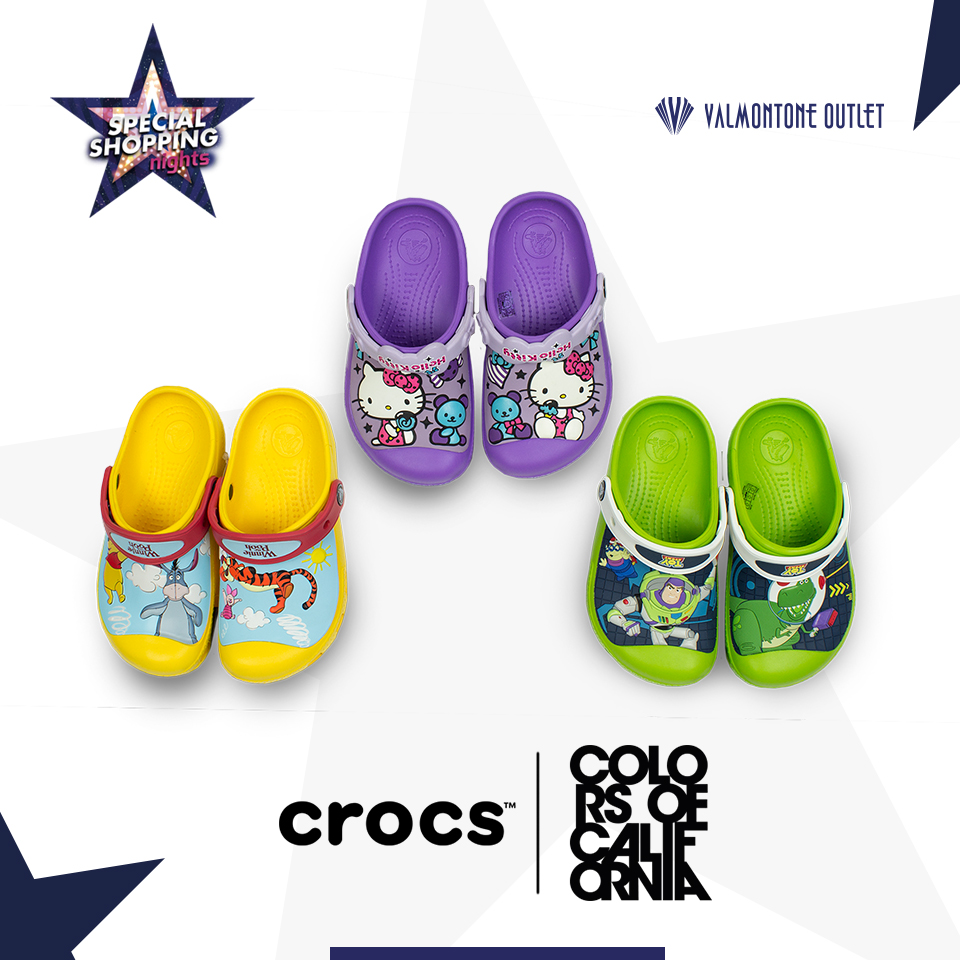 <p>Special Shopping Nights da Crocs</p>