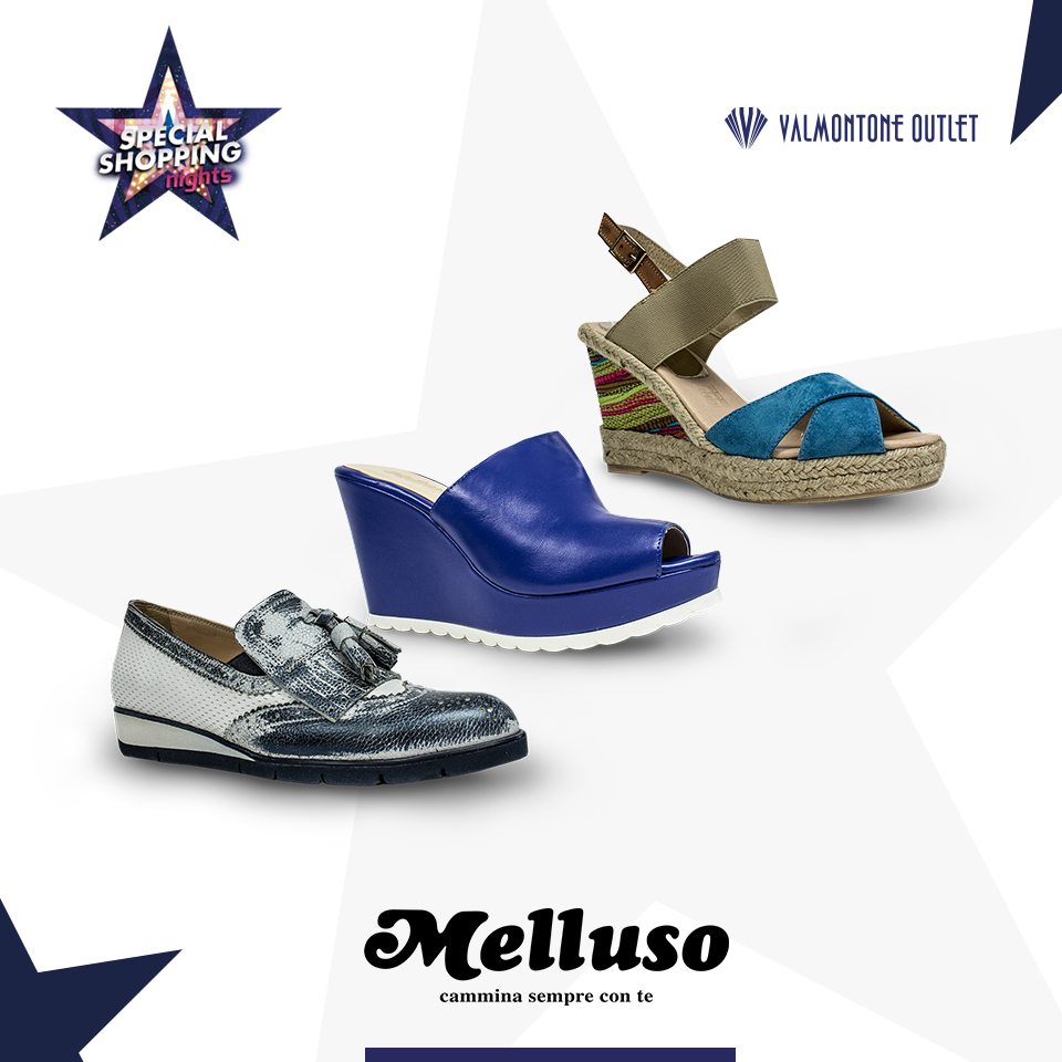 <p>Special Shopping Nights da Melluso</p>