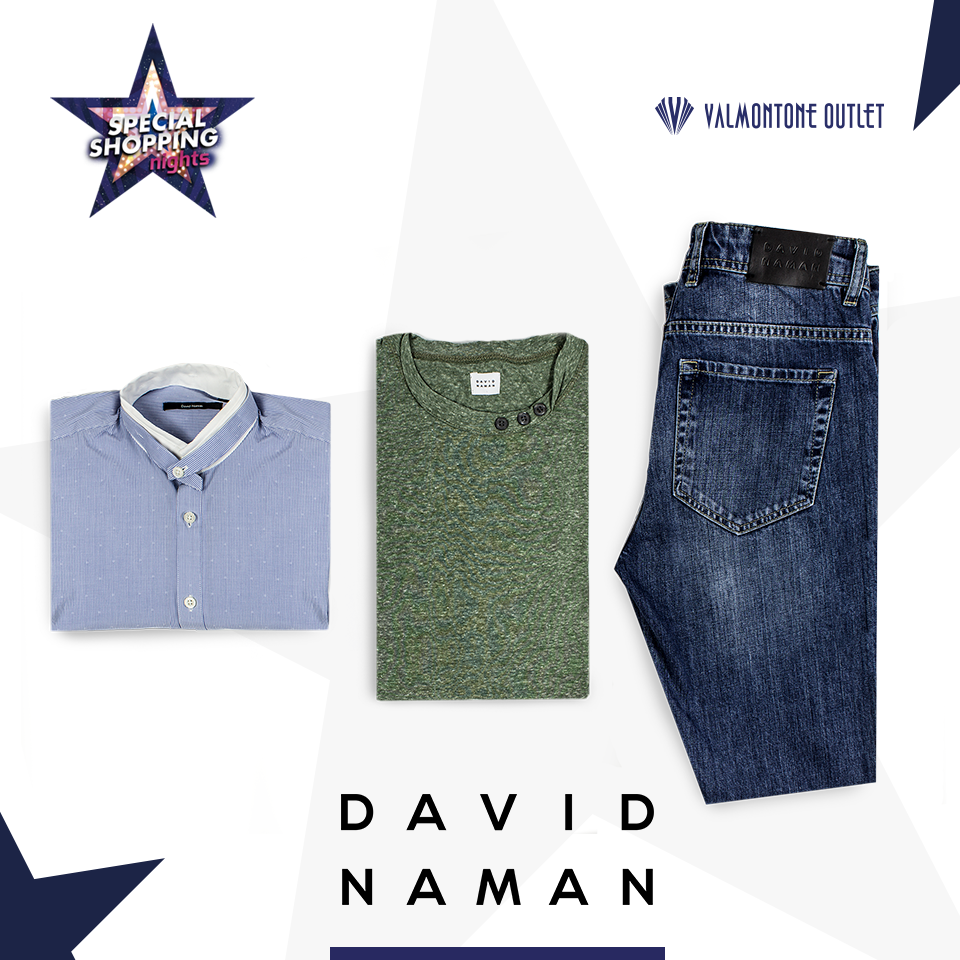 <p>Special Shopping Nights da David Naman</p>