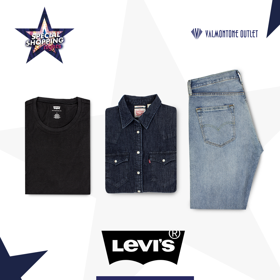 <p>Special Shopping Nights da Levi's</p>