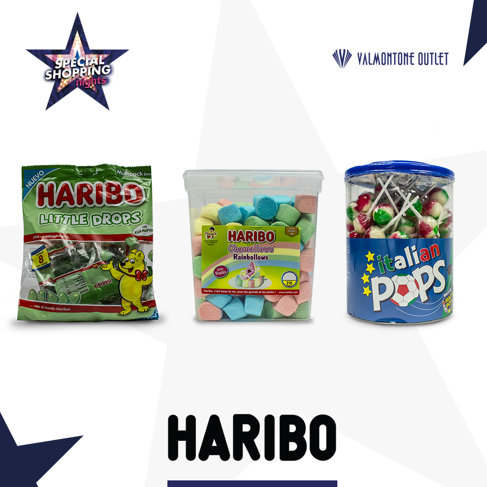 <p>Special Shopping Nights da Haribo</p>