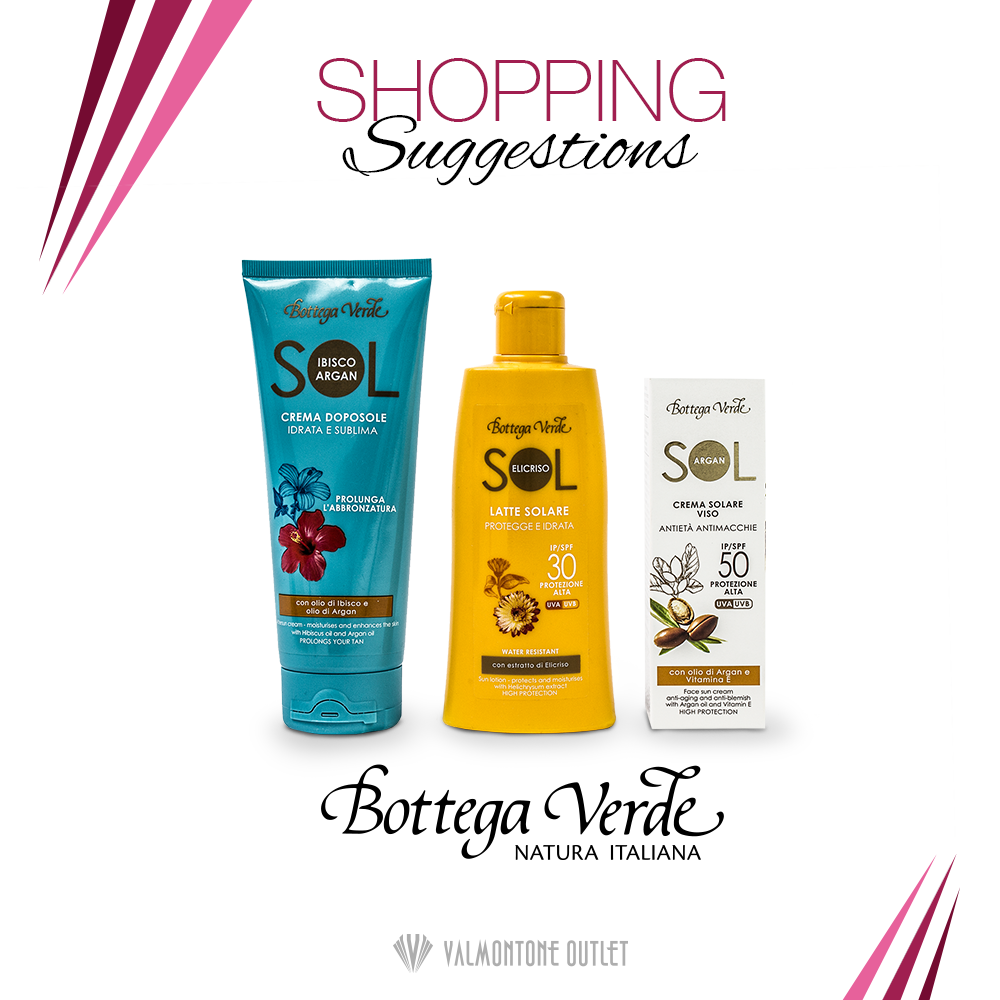 <p>Shopping Suggestions P/E da Bottega Verde</p>