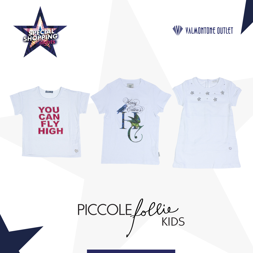 <p>Special Shopping Nights da Piccole Follie Kids</p>