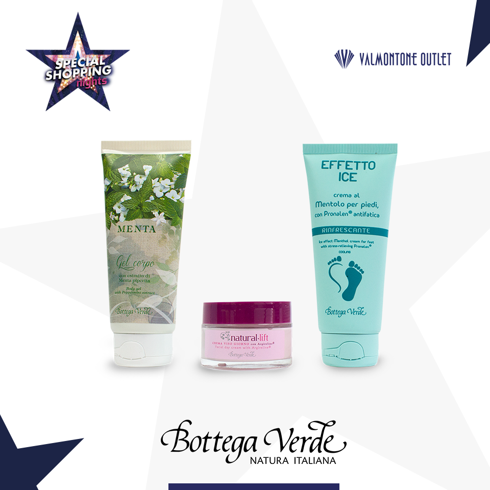 <p>Special Shopping Nights da Bottega Verde</p>
