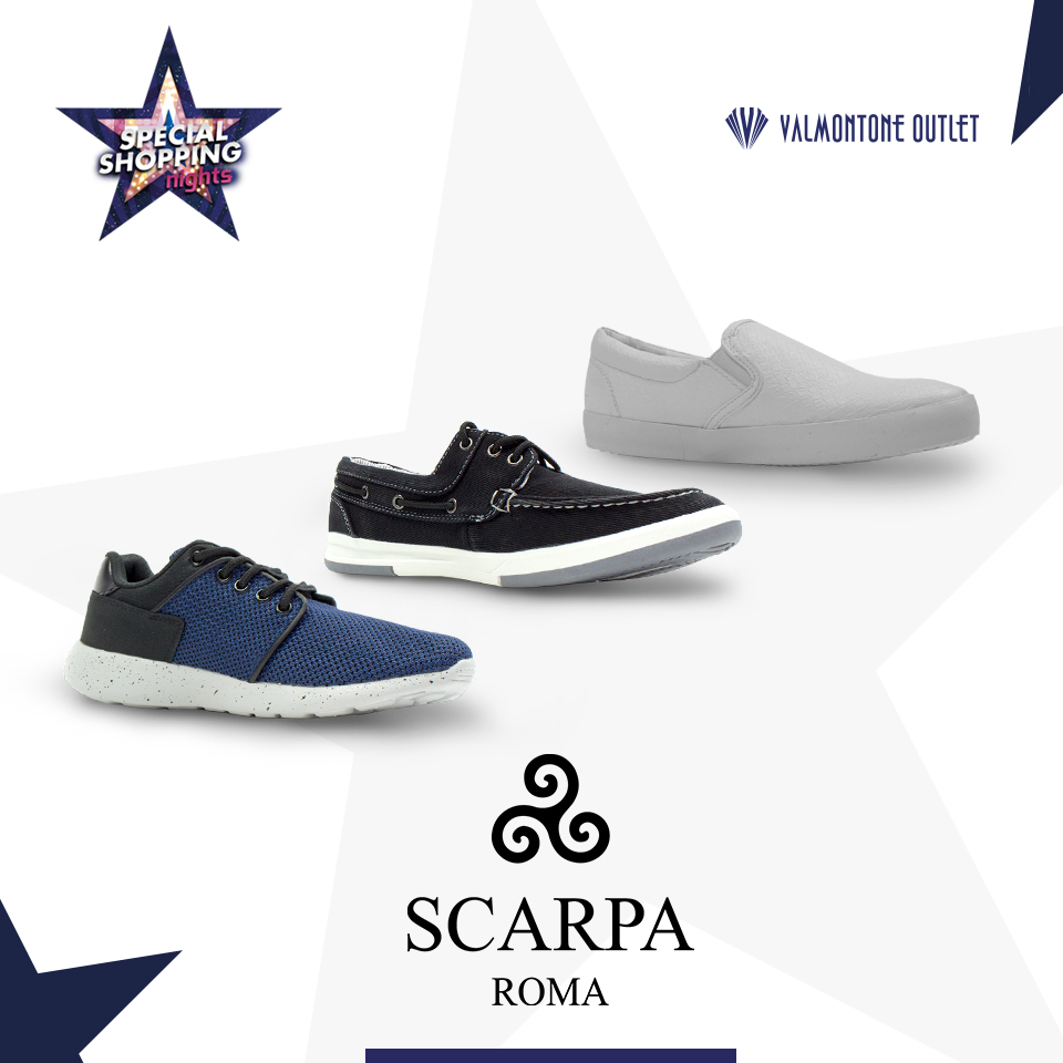 <p>Special Shopping Nights da Scarpa Roma</p>