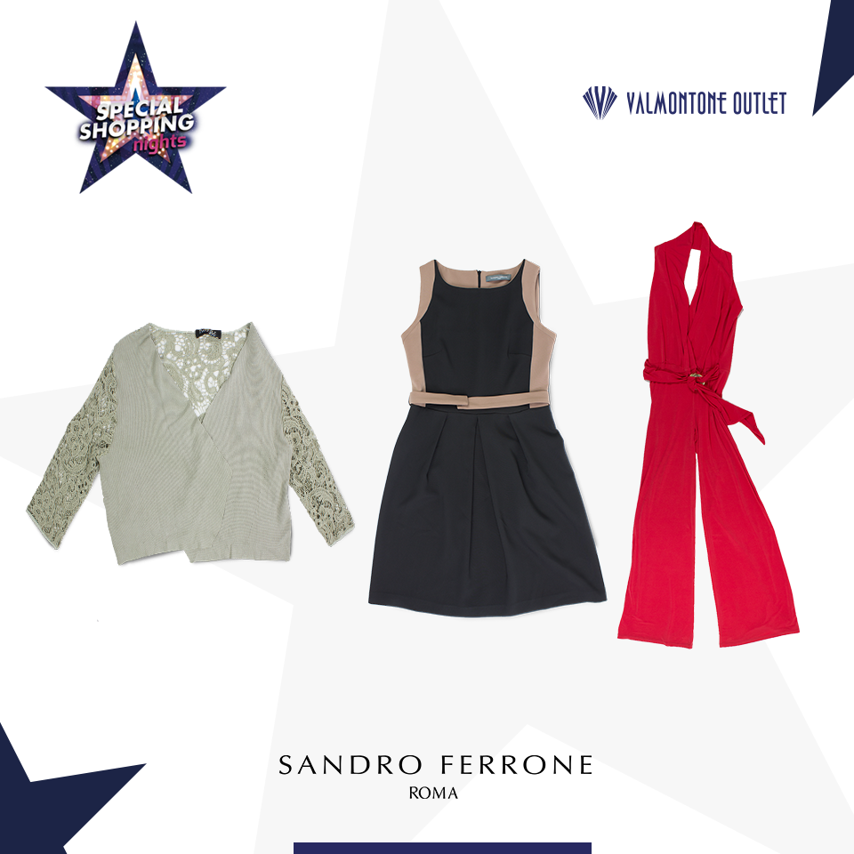 <p>Special Shopping Nights da Sandro Ferrone</p>