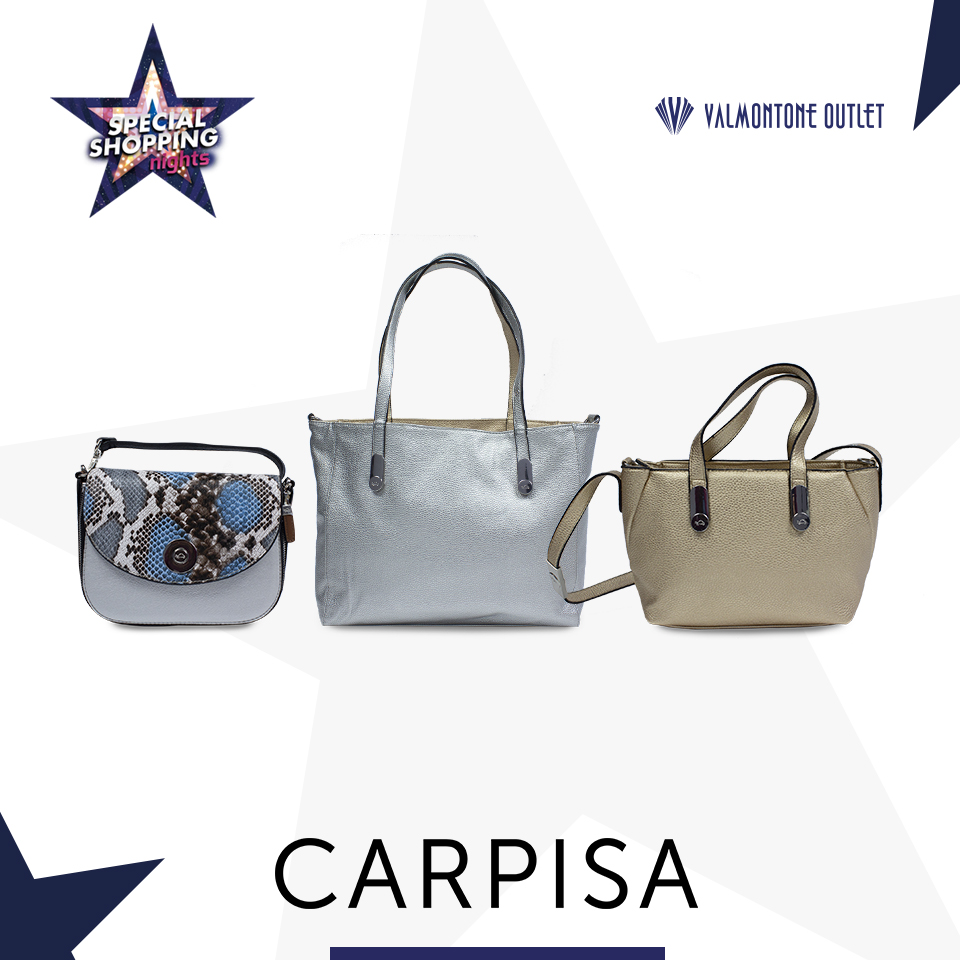<p>Special Shopping Nights da Carpisa</p>