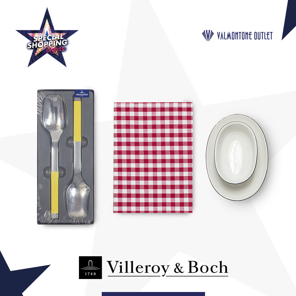<p>Special Shopping Nights da Villeroy Boch</p>