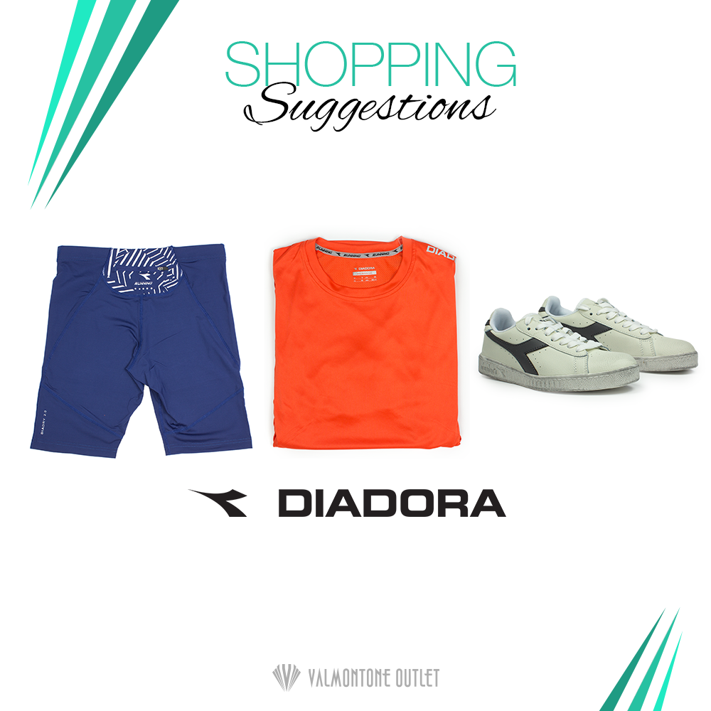 <p>Shopping Suggestions Sportswear da Diadora</p>