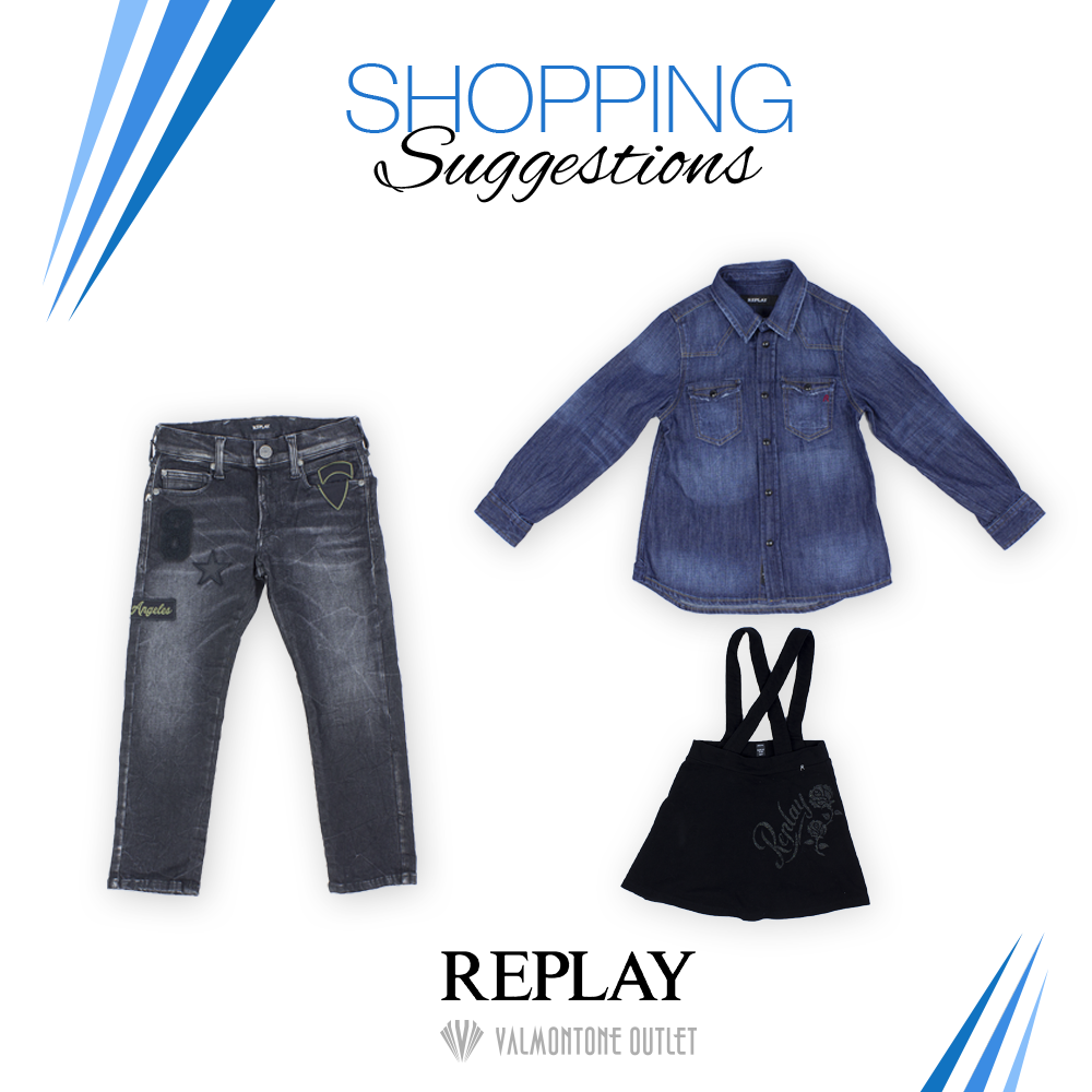 <p>Shopping Suggestions da Replay</p>