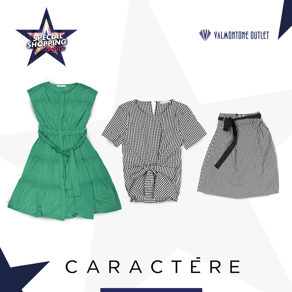 <p>Special Shopping Nights da Caract&egrave;re</p>