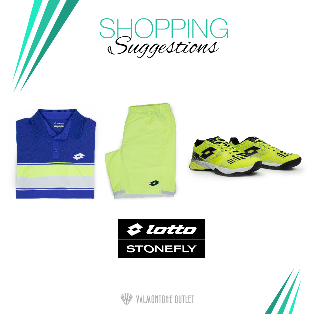 <p>Shopping Suggestions Sportswear da Lotto</p>