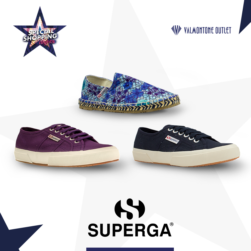 <p>Special Shopping Nights da Superga</p>