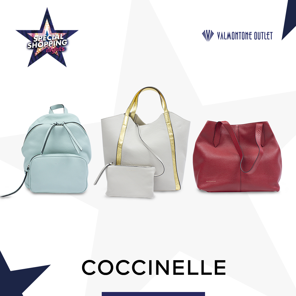<p>Special Shopping Nights da Coccinelle</p>