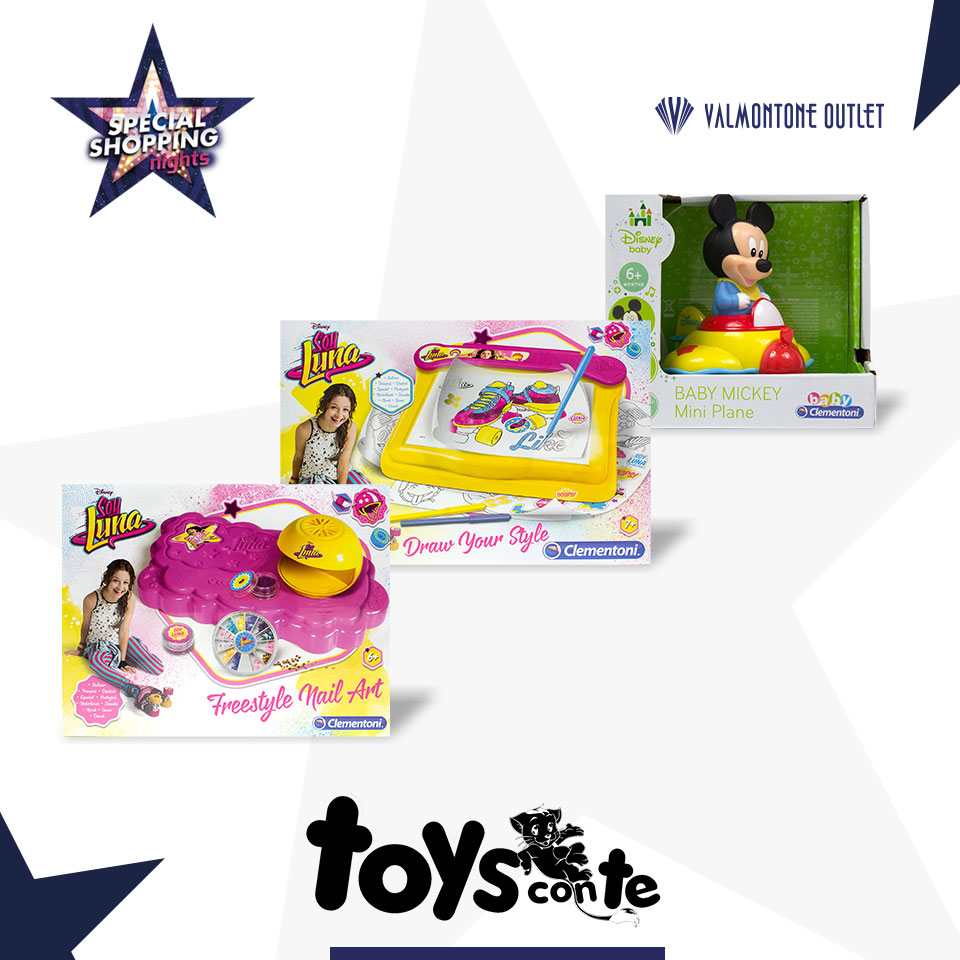 <p>Special Shopping Nights da Toys Con Te</p>