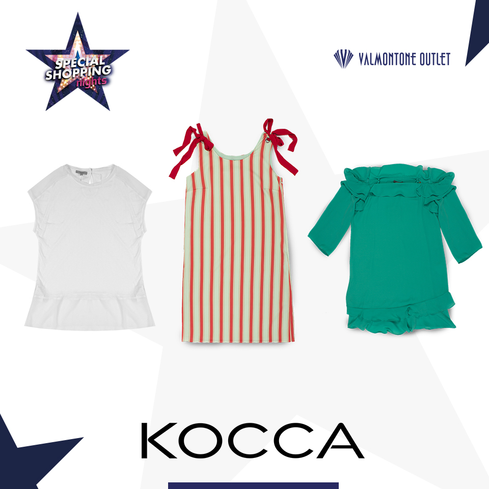 <p>Special Shopping Nights da Kocca</p>