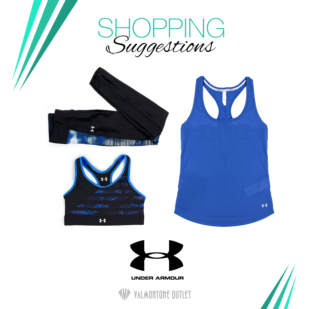 <p>Shopping Suggestions Sportswear da Under Armour</p>