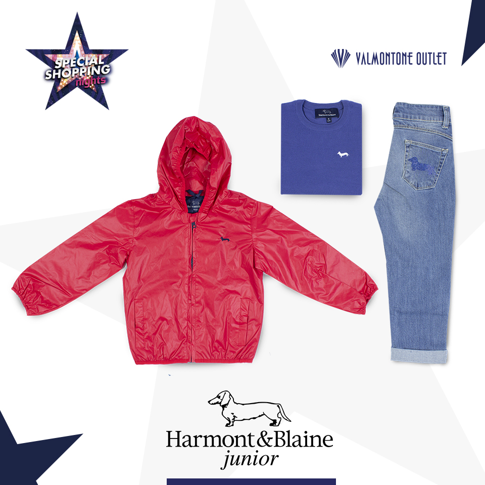 <p>Special Shopping Nights da Harmont & Blaine Junior</p>