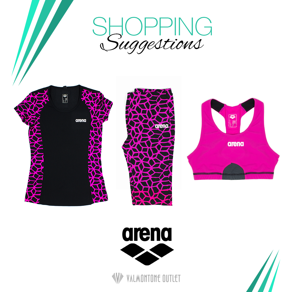 <p>Shopping Suggestions Sportswear da Arena</p>