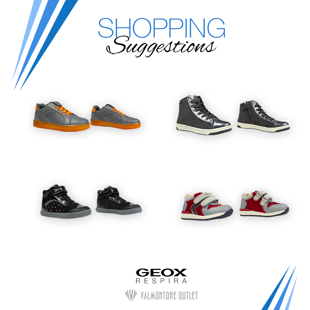 <p>Shopping Suggestions da Geox</p>