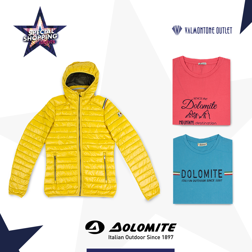 <p>Special Shopping Nights da Dolomite</p>
